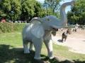 Eléphant animaux en résine classique 105