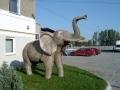 Eléphant animaux en résine classique  098