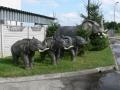 Eléphant animaux en résine classique 087
