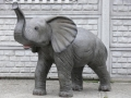 Eléphant animaux en résine classique 089
