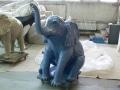 Eléphant animaux en résine classique 091