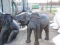 Eléphant animaux en résine classique  108