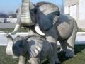 Eléphant animaux en résine classique 103