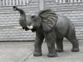 Eléphant animaux en résine classique 095