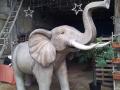 Eléphant animaux en résine classique  096