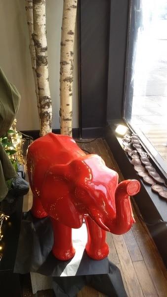 elephant en résine design 004