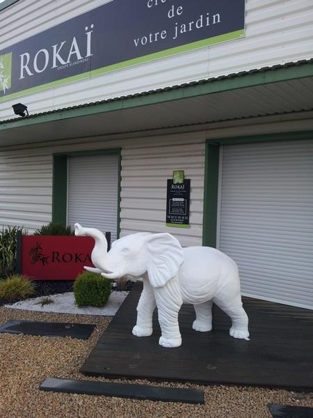 elephant en résine design 010