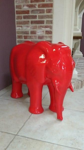 elephant en résine design 013