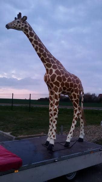 Girafe animaux en résine classique  121