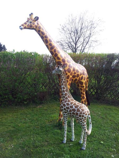 Girafe animaux en résine classique  128