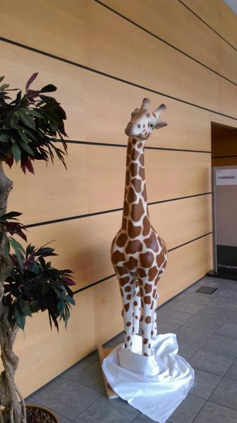 Girafe animaux en résine classique  130