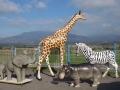 Girafe animaux en résine classique  099