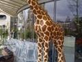 Girafe animaux en résine classique  123