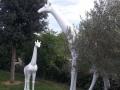 Girafe animaux en résine classique  125