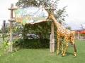 Girafe animaux en résine classique  126