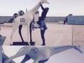 girafe en résine design 005