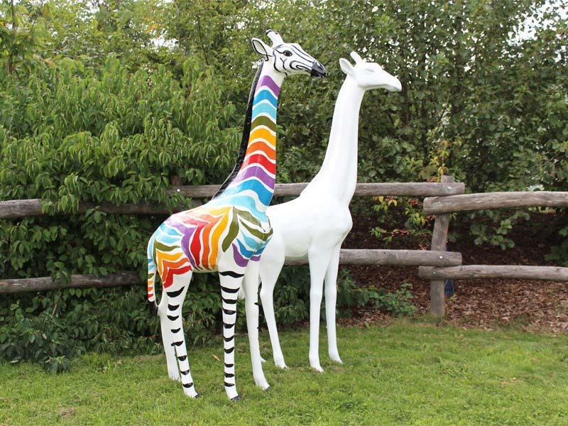 girafon zèbre multicolor 015