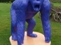 gorille en résine design 005