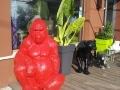 gorille en résine design 009