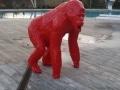 gorille en résine design 010