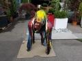 gorille en résine design 011