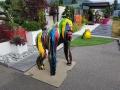 gorille en résine trash 013