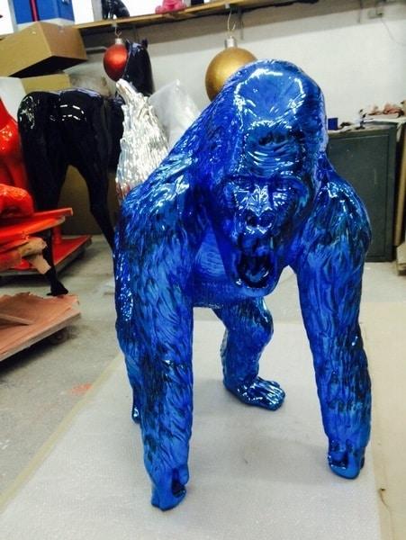 gorille en résine design 004