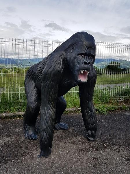 gorille en résine design 012