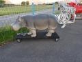 hippopotame  animaux en résine classique  143