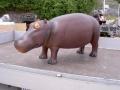 hippopotame  animaux en résine classique  145