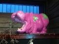 hippopotame en résine design 006