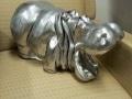 hippopotame en résine design 014