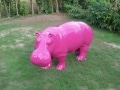 hippopotame en résine design 022