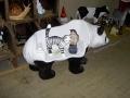 panda animaux en résine 018