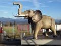 elephant en résine classique 005