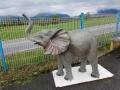 elephanteau en résine classique 008
