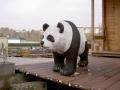 panda en résine classique 017