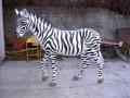 zebre en résine classique 025