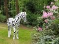 zebre en résine classique 026