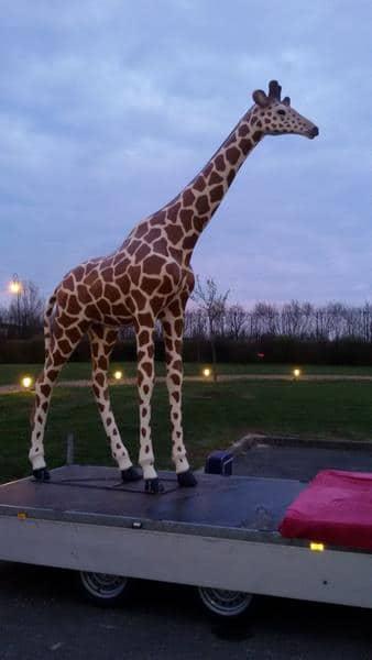 girafe en résine classique 009