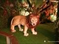 lion en resine classique 006