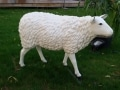 mouton en résine classique 003