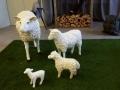 mouton  en résine classique     005