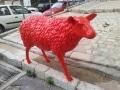 mouton  en résine design   011