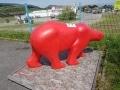 ours en résine design 015