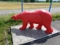ours en résine design 021