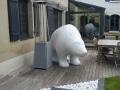 ours en résine design 054