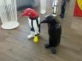 pingouin en résine design 008