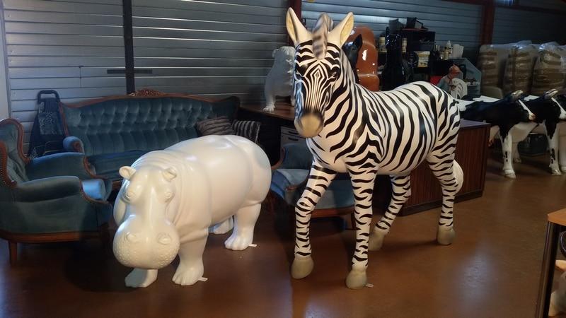 animaux en résine design prêts a peindre 012