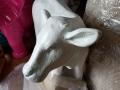 animaux en résine design prêts a peindre 036
